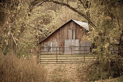 Barns Photograph - Hidden by Gregory Ballos