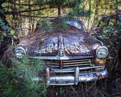 Photograph - Hidden Hudson Commodore  by Alan Raasch