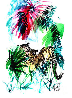 Hidden In Forest Art Print by Peter Kulik