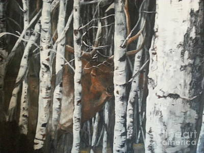 Jenna Thomas Wall Art - Painting - Hidden by Jennifer Thomas