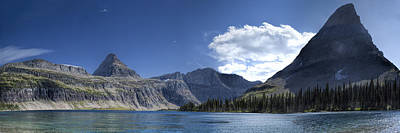 Photograph - Hidden Lake Pano by Jemmy Archer