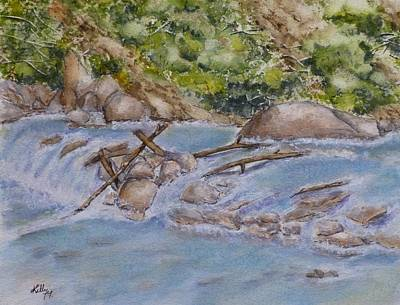 Painting - Hidden Little Creek by Kelly Mills