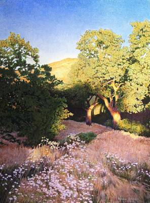 Painting - Hidden Oaks by Andrew Danielsen