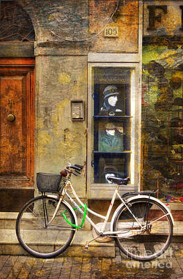 Photograph - Hidden River Bicycle by Craig J Satterlee