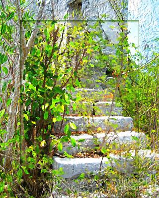 Digital Art - Hidden Stairs by Joseph Re