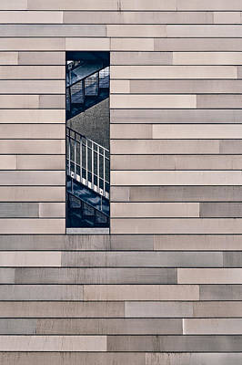 Minimalist Photograph - Hidden Stairway by Scott Norris