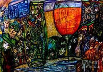 Color Painting - Hidden  by Stephanie Zelaya