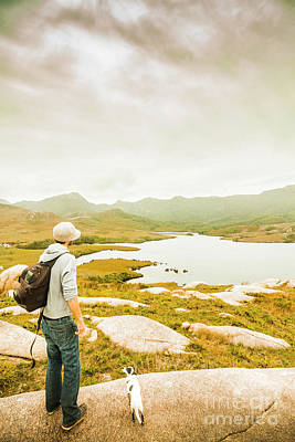 Travelling Wall Art - Photograph - Hidden Tasmania Trails by Jorgo Photography - Wall Art Gallery