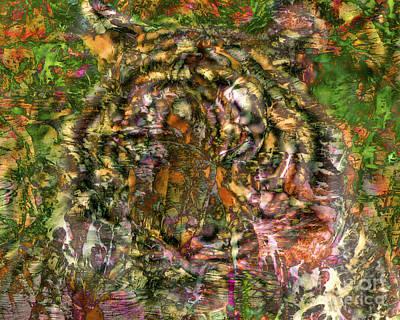 Hidden Tiger Art Print by Chuck Brittenham