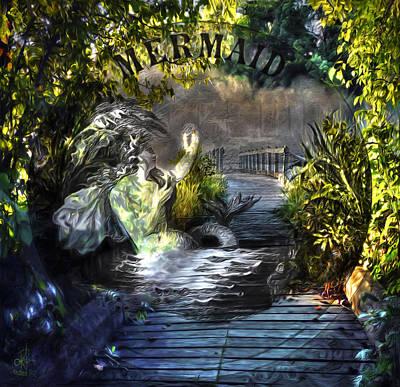 Mixed Media - Hidden Treasure by Pennie  McCracken