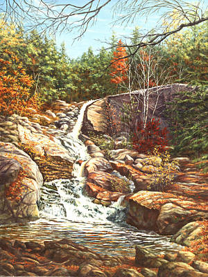 Hidden Treasure Waterfall, New Hampshire Original