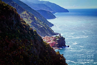 Photograph - Hidden Vernazza by Scott Kemper