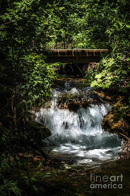 Photograph - Hidden Waterfall At Chickasaw National Recreation Area by Tamyra Ayles