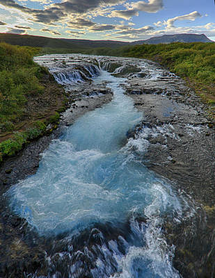 Photograph - Hidden Waterfall Iceland by Jack Nevitt