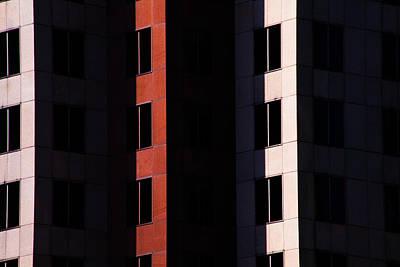 Abtract Photograph - Hidden Windows by Karol Livote