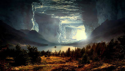 Photograph - Hidden World by Pixabay