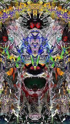 Shark Digital Art - Hidden Worlds by J Huber