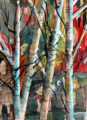 Hide And Go Seek Art Print by Mindy Newman