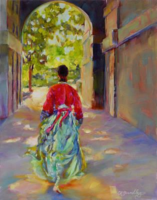 Painting - Hide And Seek by Chris Brandley
