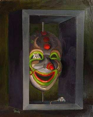 Painting - Hide And Seek by Grace Diehl