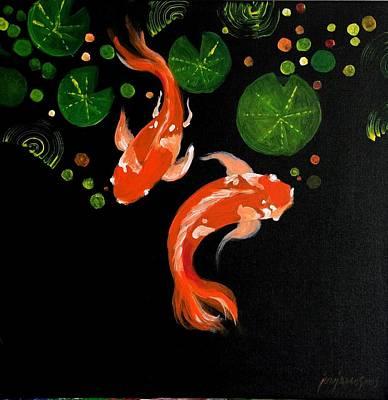 Painting - Hide And Seek by Jun Jamosmos