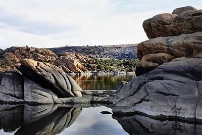Watson Lake Photograph - Hide 'n' Seek by Thomas Todd