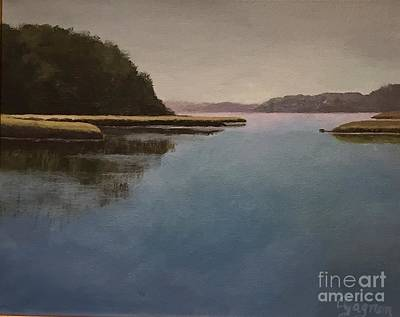 Painting - High Tide Little River by Claire Gagnon
