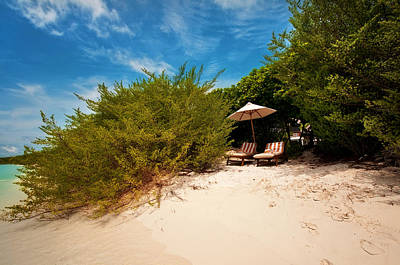 Photograph - Hideaway. Maldivian Beach by Jenny Rainbow