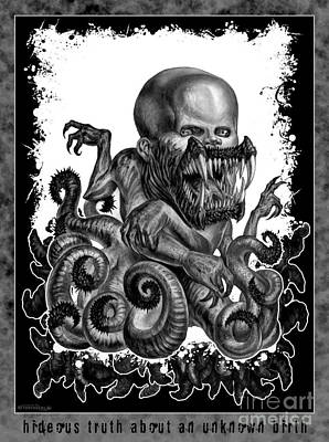 Hideous Truth About An Unknown Birth Art Print