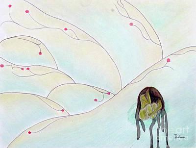 Hiding  Original by Adina Art