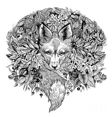 Hiding Fox Original by Sarah Wilson