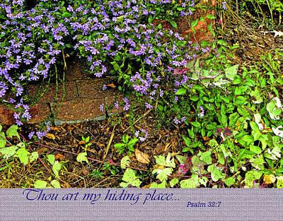 Hiding Place Art Print by Larry Bishop