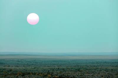 Photograph - Hiding Sun by Todd Klassy