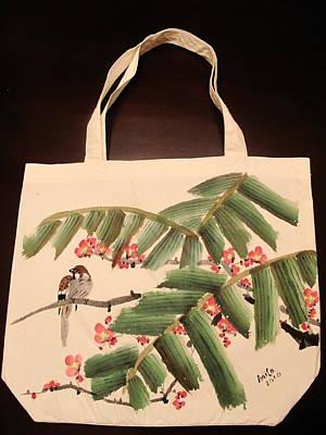 Hiding Under The Palm Tree Art Print by Anita Lau