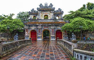 Hien Nhon Gate, Citadel, Hue,vietnam Art Print