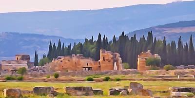 Photograph - Hierapolis by Lisa Dunn
