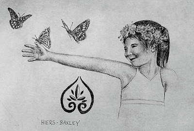 Drawing - Hiers-baxley by Larry Whitler