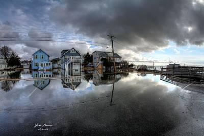 Photograph - Higbee Flooding by John Loreaux