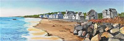 Painting - Higgins Beach, Maine by Jack Riddle