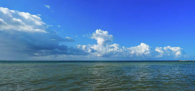Photograph - Higgs Beach Key West Panorama by Bob Slitzan