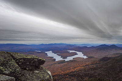 Photograph - High Above Lake Placid New York by Terry DeLuco