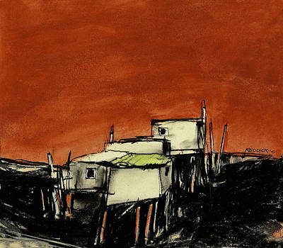 Painting - High And Dry 1 by Gary Reddick