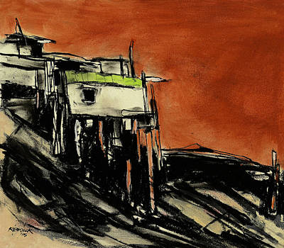 Painting - High And Dry 2 by Gary Reddick