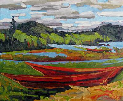 Climate Change Painting - High And Dry by Phil Chadwick