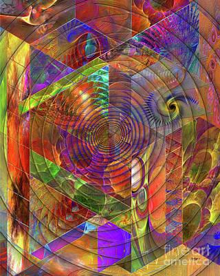 Frenzy Digital Art - High Anxiety by John Robert Beck