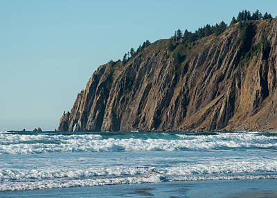 Photograph - High Cliffs Of The Oregon Coast by Robert Potts