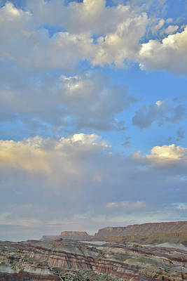 Photograph - High Clouds Over Caineville Wash by Ray Mathis