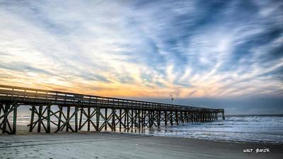 Photograph - High Clouds by Walt Baker