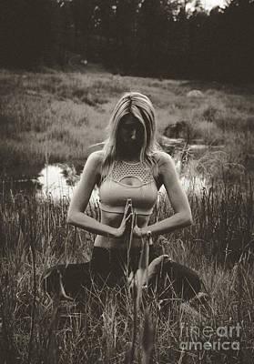 Photograph - High Contrast Meditation Meadow by Scott Sawyer