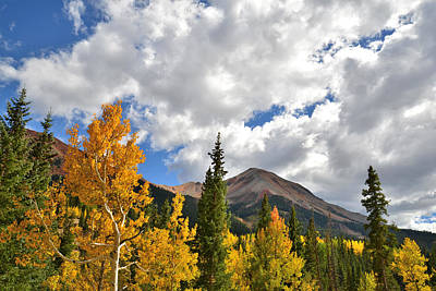 Photograph - High Country Fall by Ray Mathis